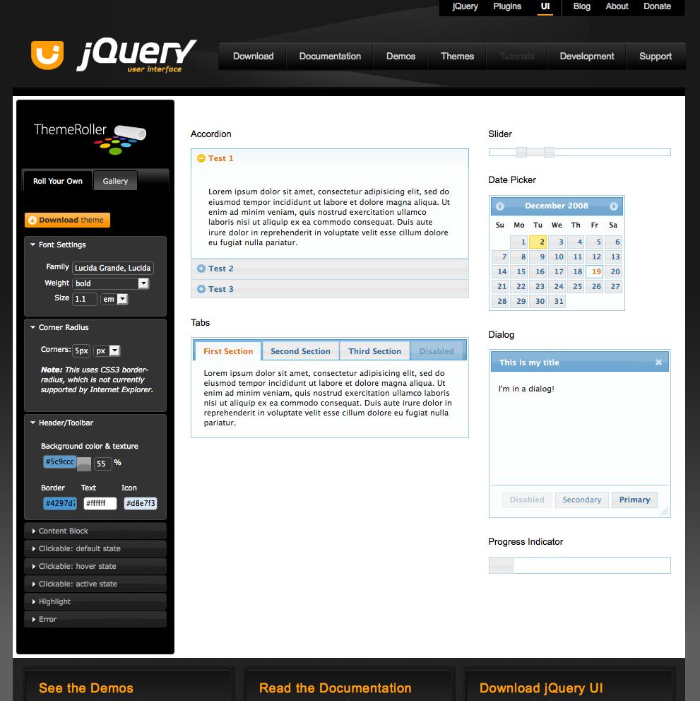 jquery ui tools