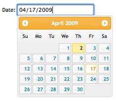 jQuery UI Development & Planning Wiki / Datepicker